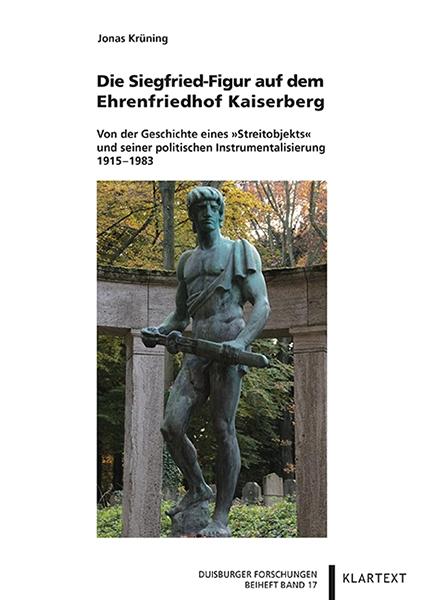 Die Siegfried-Figur auf dem Ehrenfriedhof Kaiserberg