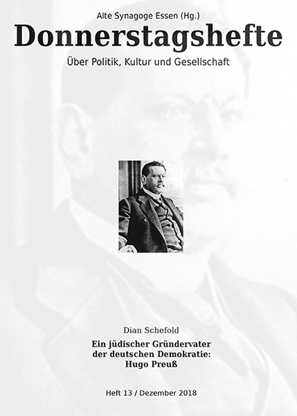 Ein jüdischer Gründervater der deutschen Demokratie