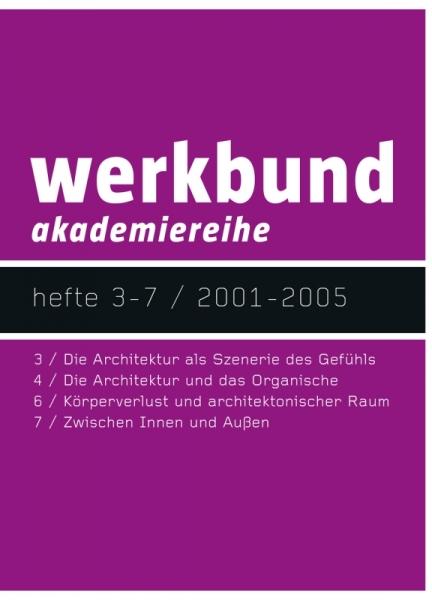 werkbund akademiereihe