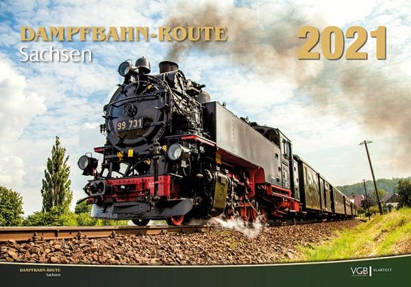 Dampfbahn-Route Sachsen 2021