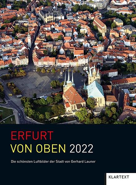 Erfurt von oben 2022