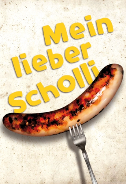 """Magnet """"Mein lieber Scholli"""""""