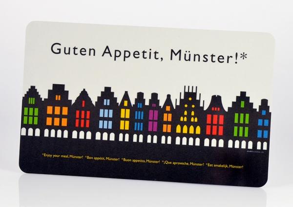 Münster – Brettchen bunt
