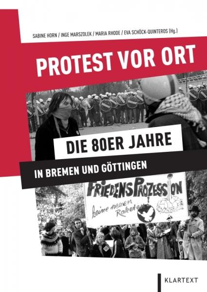 Protest vor Ort