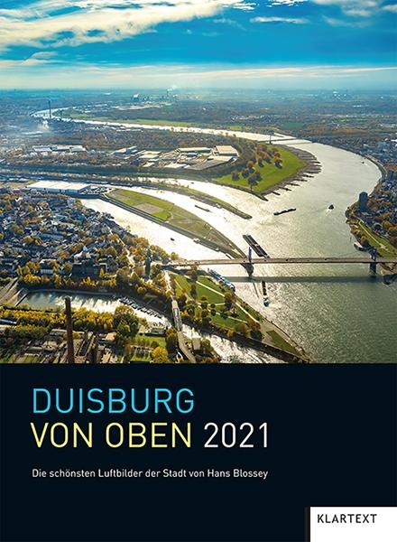 Duisburg von oben 2021