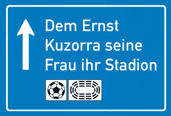 """Magnet """"Ernst Kuzorra"""""""