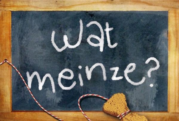 "Magnet ""Wat meinze"""