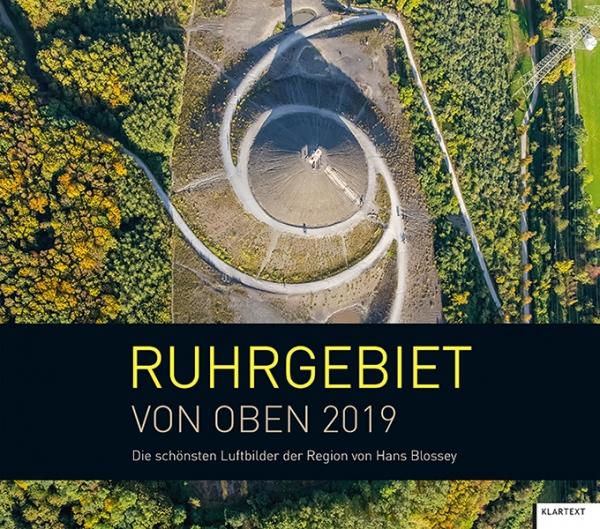 Ruhrgebiet von oben 2019