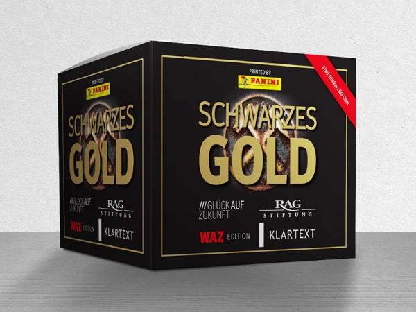 Schwarzes Gold - Stickerbox