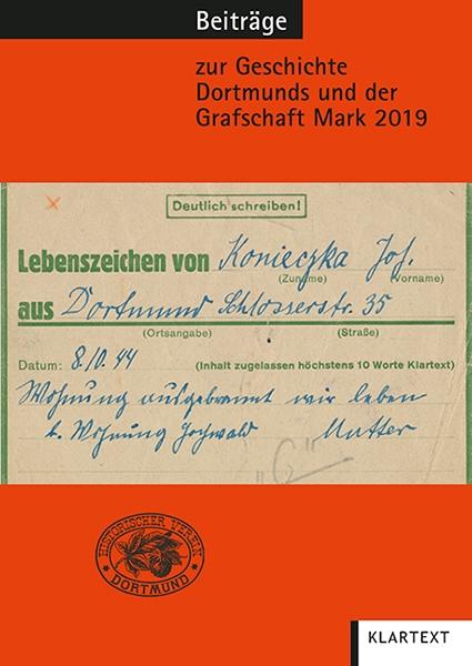 Beiträge zur Geschichte Dortmunds und der Grafschaft Mark 2019