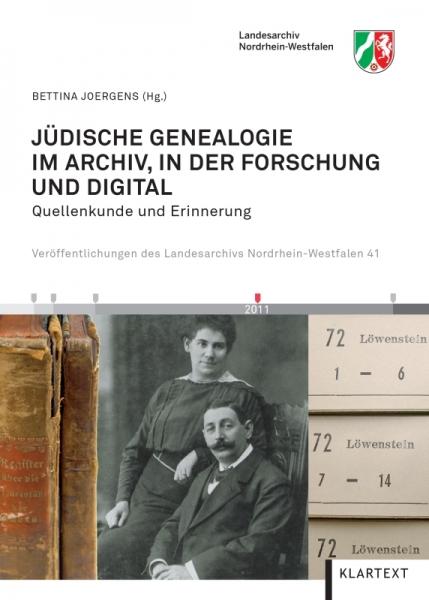 Jüdische Genealogie im Archiv, in der Forschung und digital