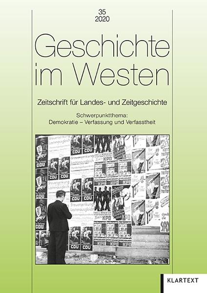 Geschichte im Westen 35/2020