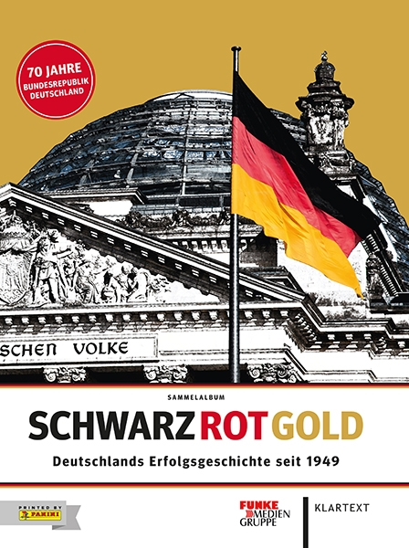 Schwarz Rot Gold – Stickeralbum Hardcover